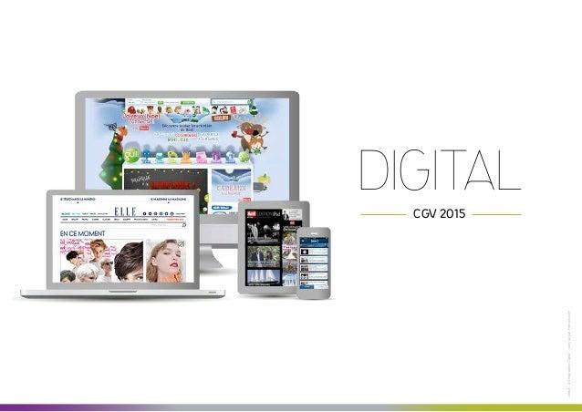 Digital : CGV 2015