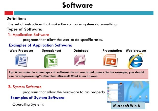 an introduction to the three major types of application software for personal computers These are types of depreciation that companies face  222 types of credits 231 types of depreciation  the major benefit of using this method is the tax shield it provides companies.