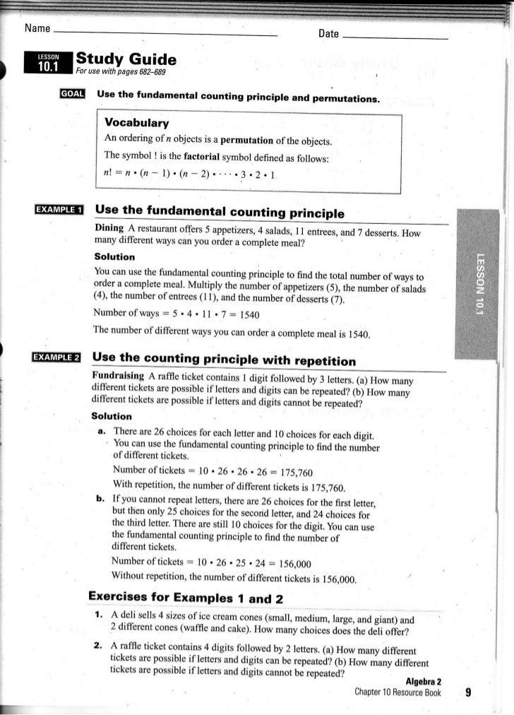 Intermediate Algebra: Ch. 10.1 10.3
