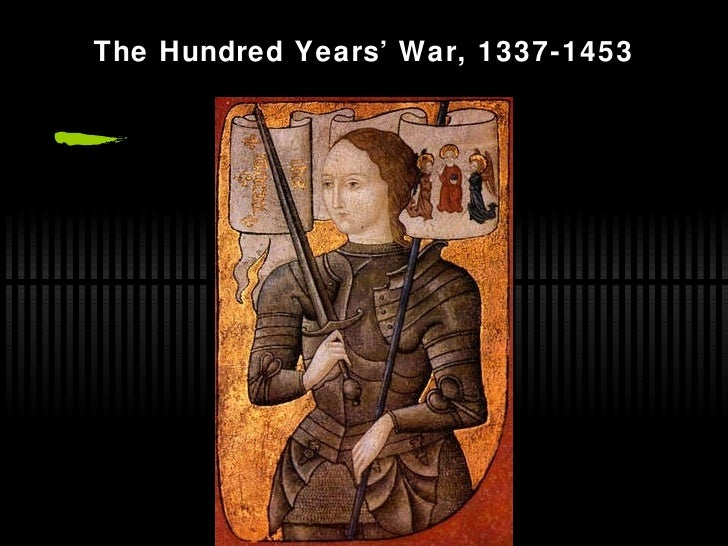 Ch. 13 hundred years war