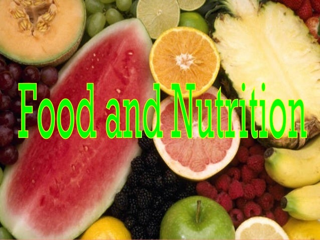 Good nutrition enhances your quality of life and helps you prevent disease. NUTRITION: THE PROCESS BY WHICH THE BODY TAKES...