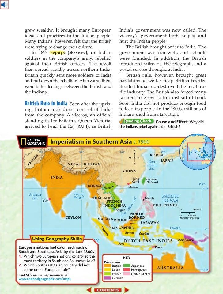 Global imperialism essay