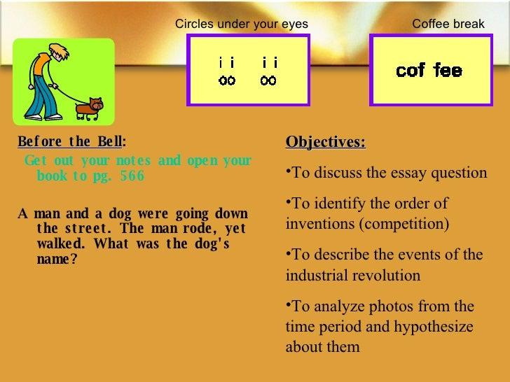 <ul><li>Before the Bell : </li></ul><ul><li> Get out your notes and open your book to pg. 566 </li></ul><ul><li>A man and...
