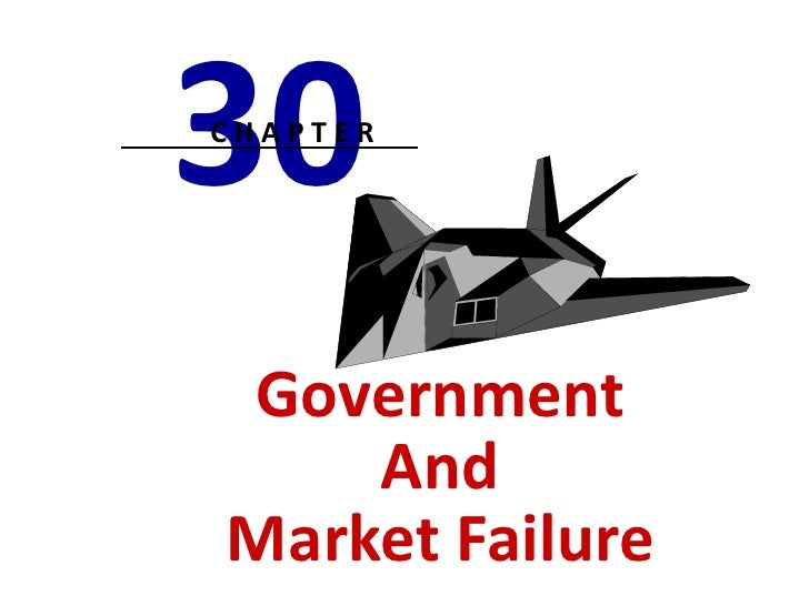 30CHAPTERGovernment    AndMarket Failure