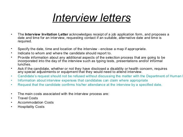 Email Reply For Job Interview Invitation | futureclim.info