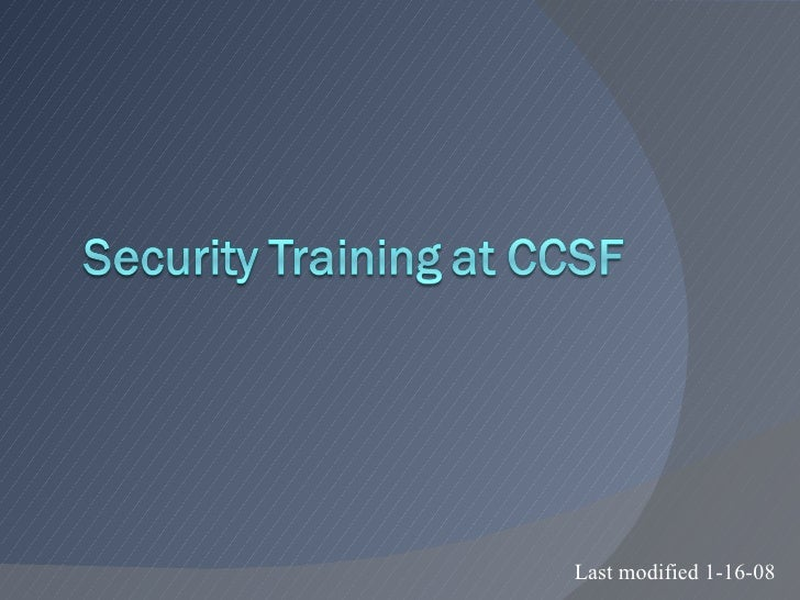 Ch01 Introduction to Security