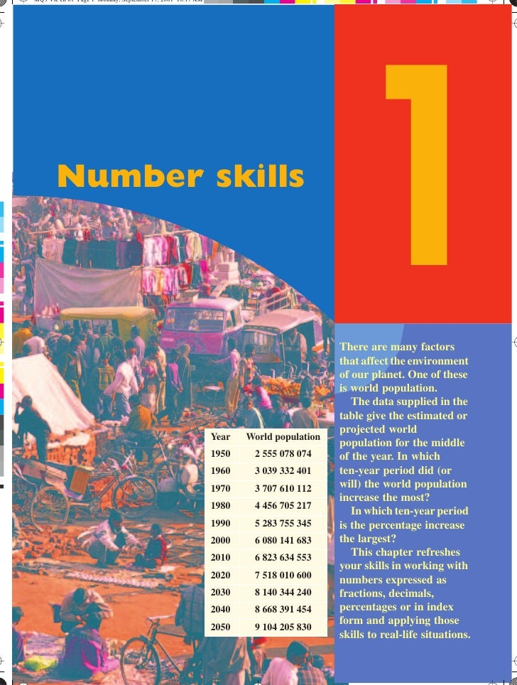 Number skills                                   1                                  There are many factors                 ...