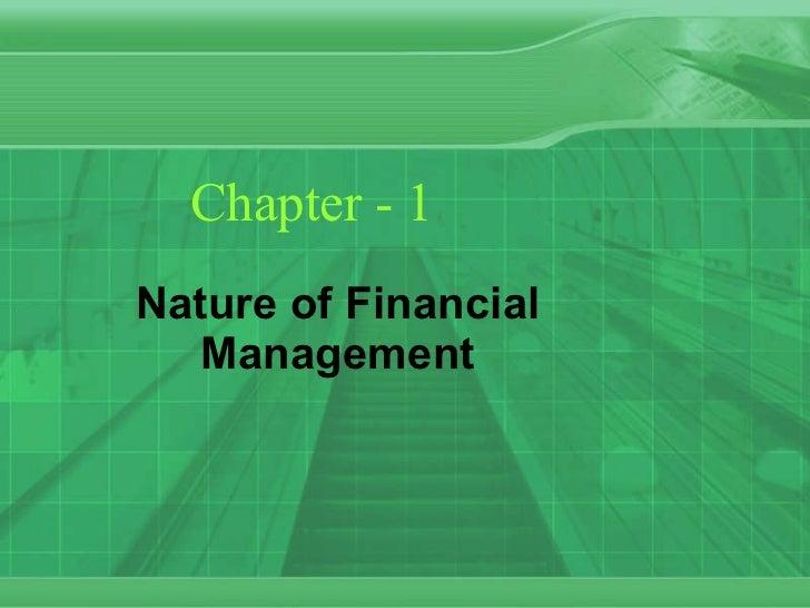 Financial Management chapter-1
