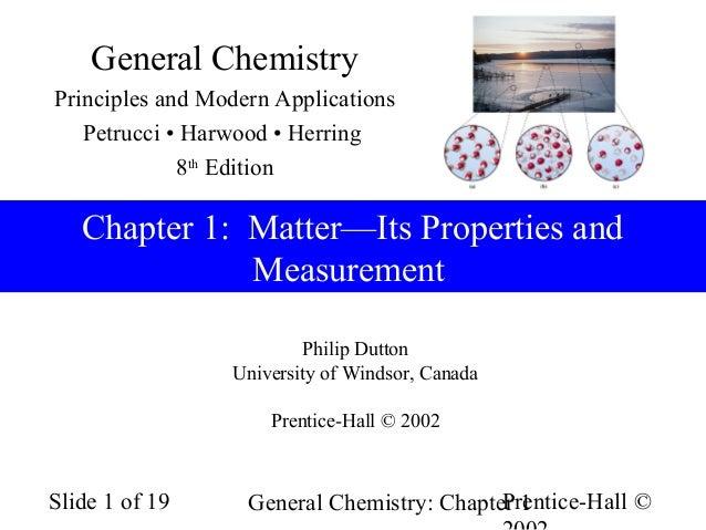 general chemistry ch1