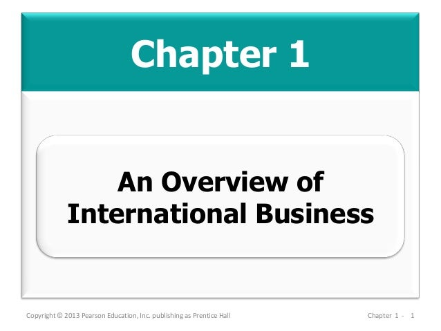MBA 713 - Chapter 01