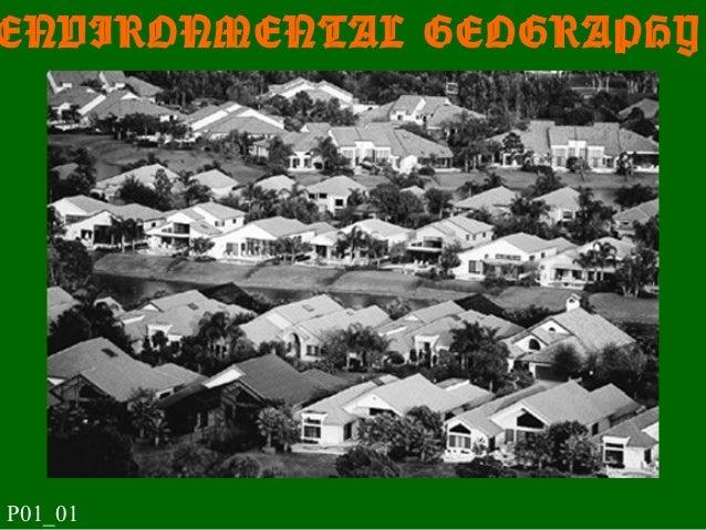 ENVIRONMENTAL GEOGRAPHY P01_01