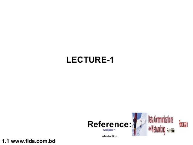 LECTURE-1 (Data Communication) ~www.fida.com.bd
