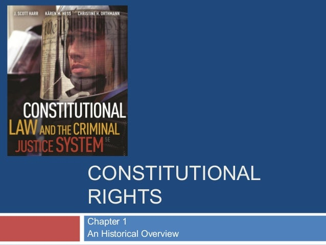 CONSTITUTIONAL RIGHTS Chapter 1 An Historical Overview