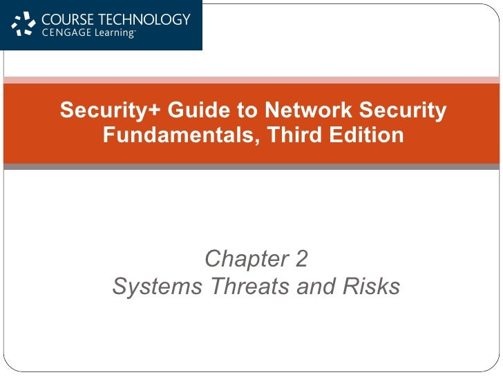 Chapter 2 Systems Threats and Risks Security+ Guide to Network Security Fundamentals, Third Edition