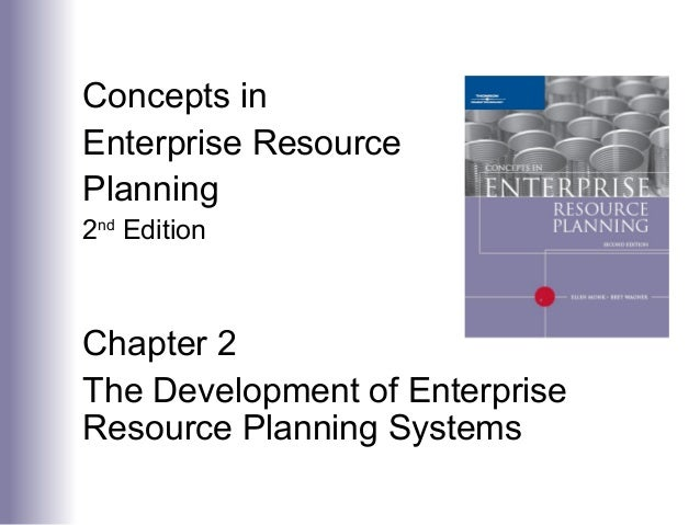 Concepts in Enterprise Resource Planning 2nd Edition Chapter 2 The Development of Enterprise Resource Planning Systems