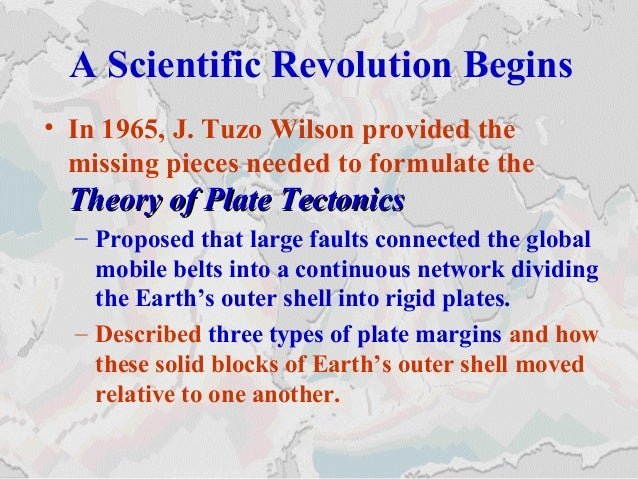 Story Plate Tectonics Plate Tectonics The New