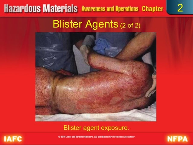 Blister agents financial definition of Blister agents