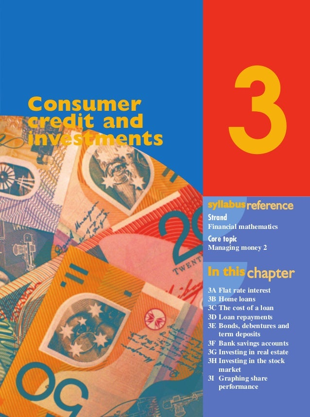 Maths A Yr 12 - Ch. 03 Page 101 Wednesday, September 11, 2002 3:58 PM  3  Consumer credit and investments  syllabus refere...
