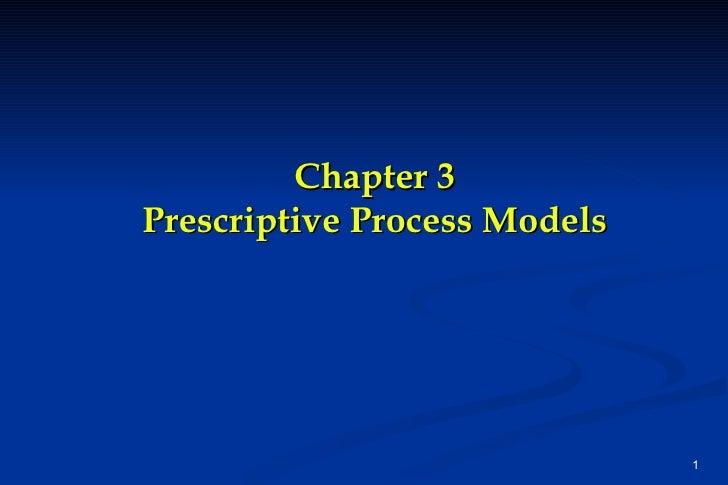 Ch03 prescriptive process models