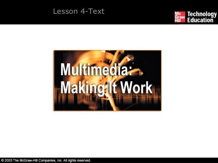 Lesson 4-Text