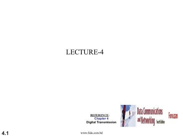 LECTURE-4 (Data Communication) ~www.fida.com.bd