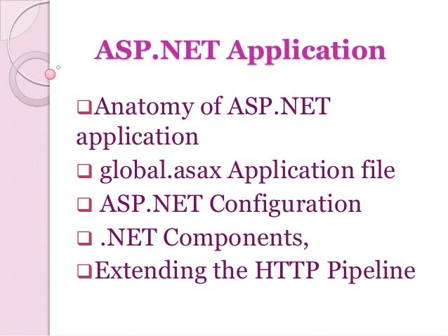 Ch 04 asp.net application