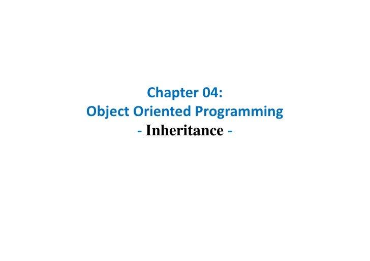 C h 04 oop_inheritance