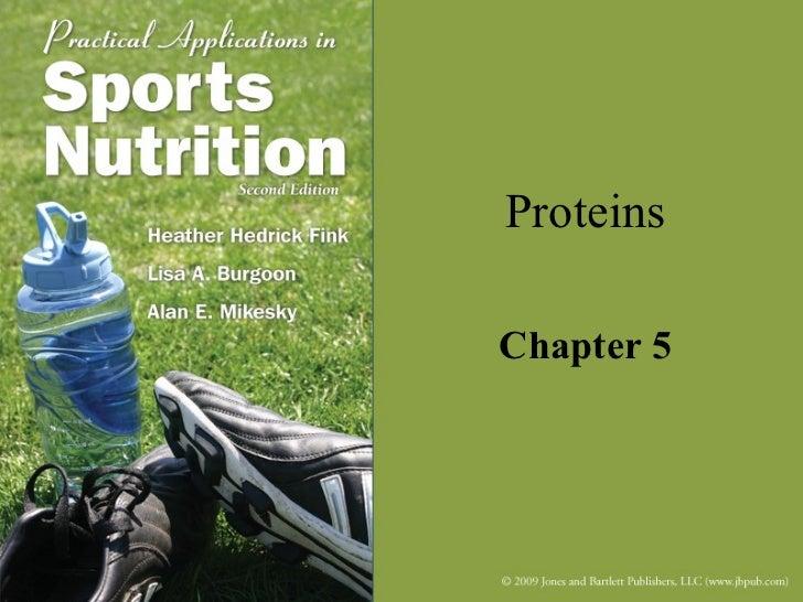 ProteinsChapter 5