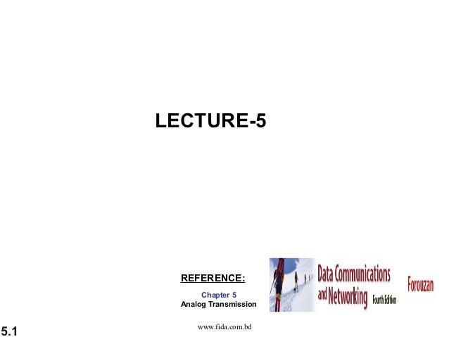 LECTURE-5 (Data Communication) ~www.fida.com.bd