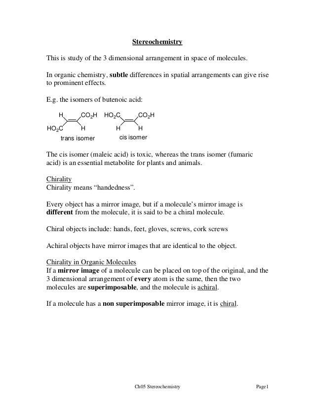 Ch05. streochemistry