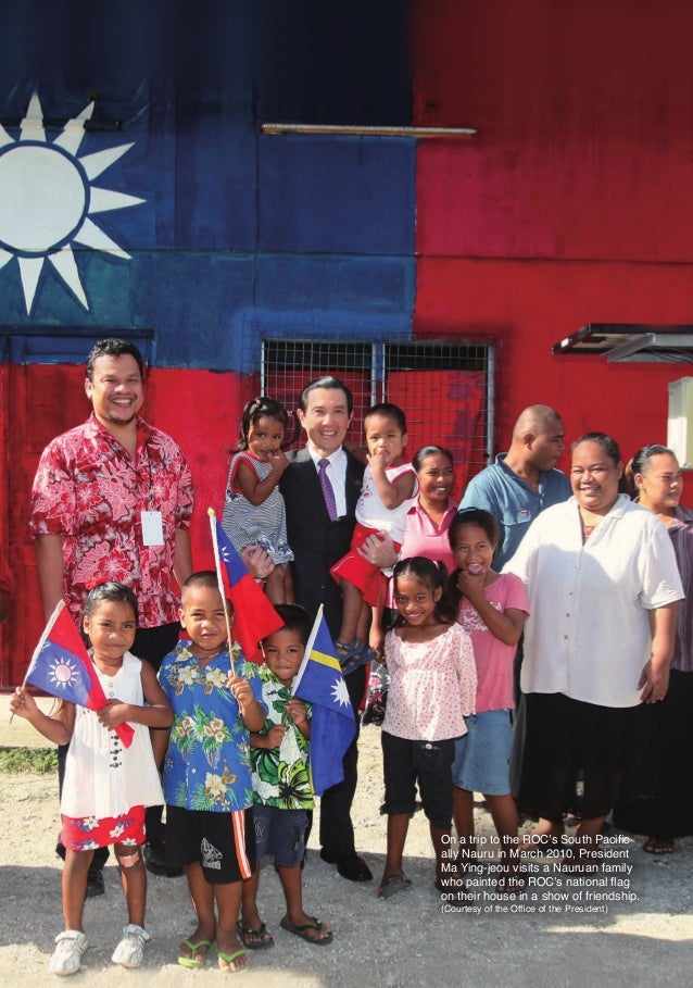 On a trip to the ROC's South Pacific                                          ally Nauru in March 2010, President         ...