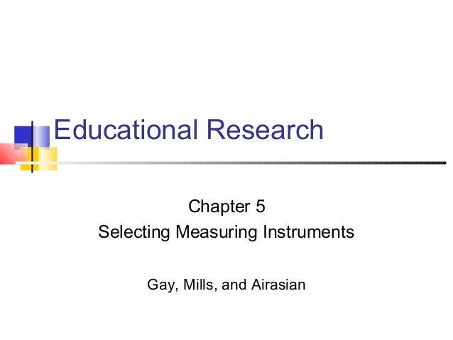Ch05 instrumentation