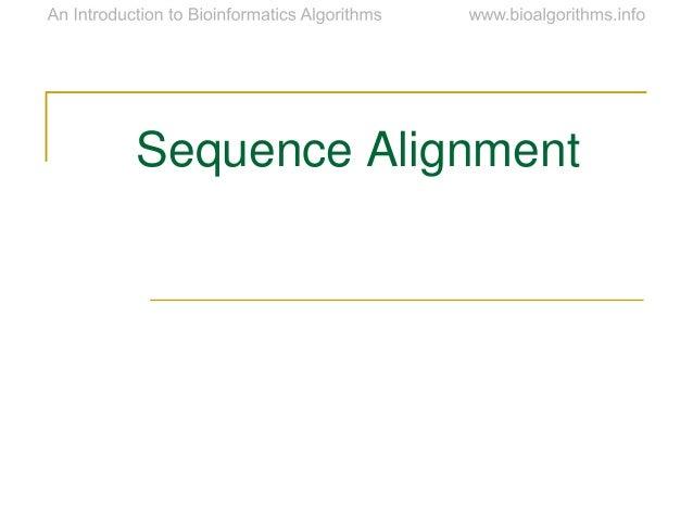 Ch06 alignment