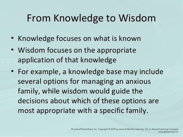 Wisdom essay