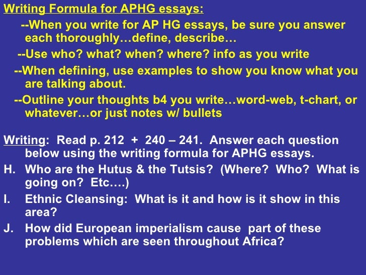 ap human geography outline chapter 9 Chapter 9 outline when and why did people start living in cities the hearths of  urbanization - the first agricultural hearth was the area of southwest asia.