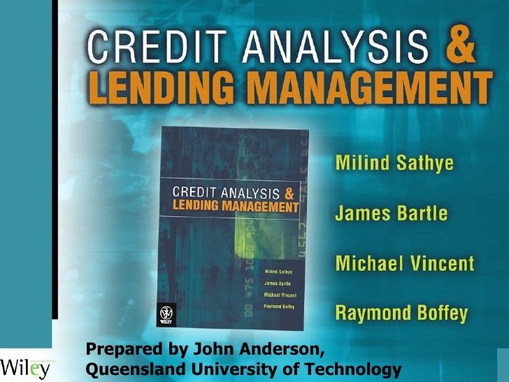 Credit Management Chap 8