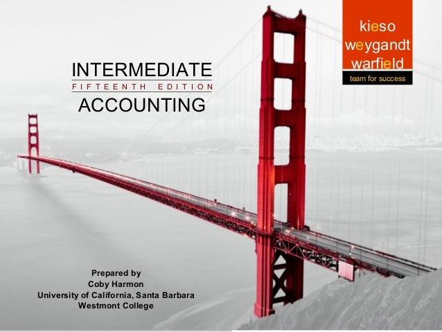 INTERMEDIATE  Intermediate ACCOUNTING Intermediate Accounting Accounting F I F T E E N T H  8-1  E D I T I O N  Prepared b...