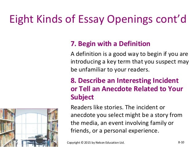 college essay letter examples