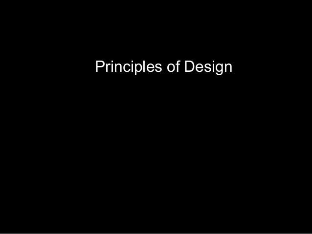 Ch08 principles of design