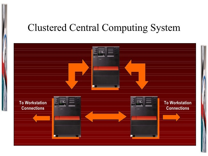 Clustered Central Computing System To Workstation Connections To Workstation Connections