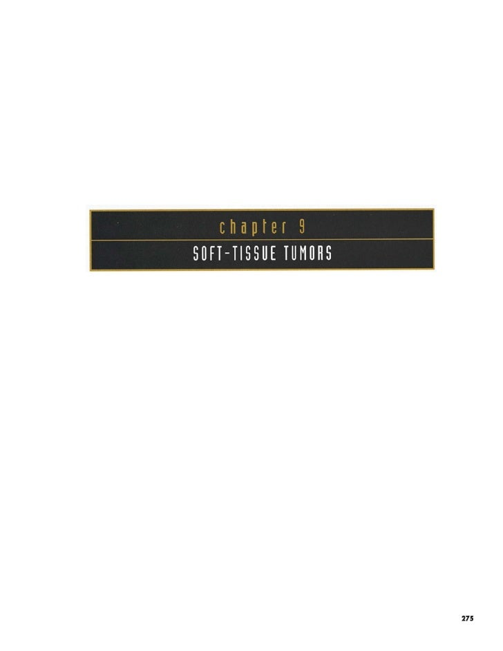 9/14 Soft Tissue Tumor- Oral pathology Color Atlas