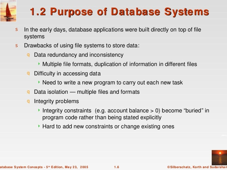concepts of database systems Here's list of questions & answers on database management system with 100+ topics: 1 questions and answers on the relational model  the following sections contains various questions on dealing with the concept of relational model.