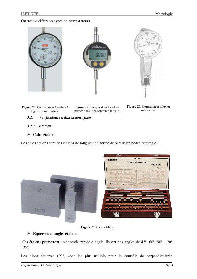 M trologie les instruments de mesure for Comparateur de comparateur hotel