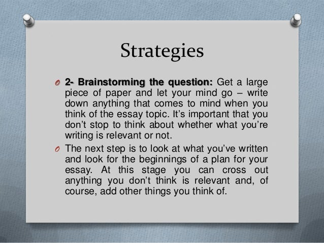 How to write a good essay - YouTube