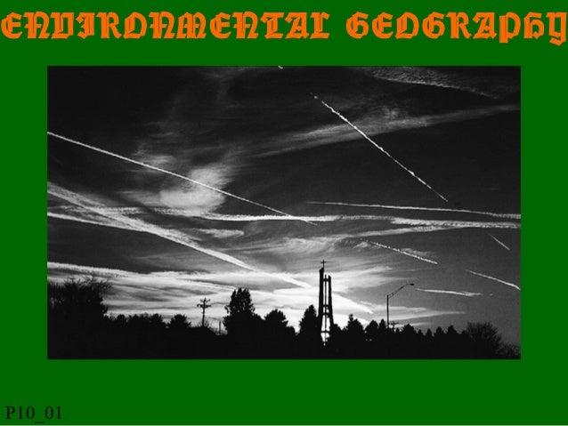 ENVIRONMENTAL GEOGRAPHY P10_01