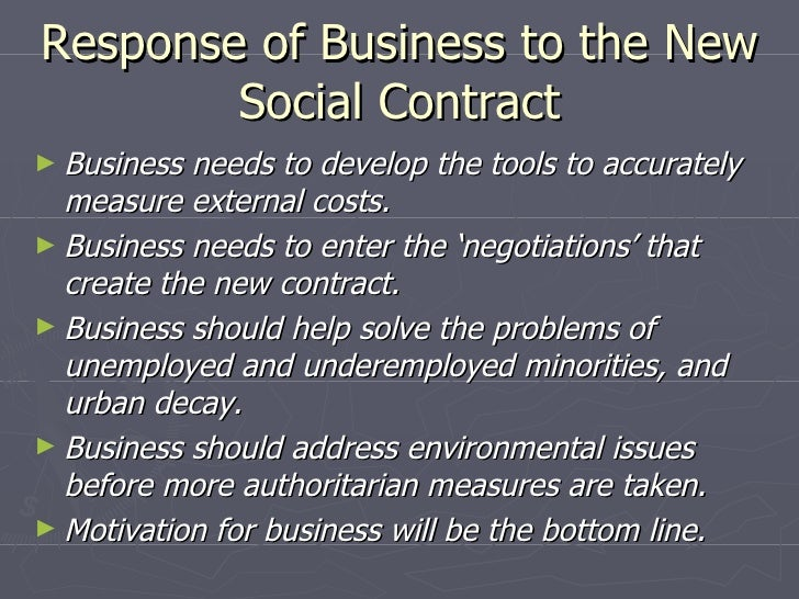 a new social contract Digital transformation requires new social contract accenture makes the great point that this new model of partnership this is a social contract with.