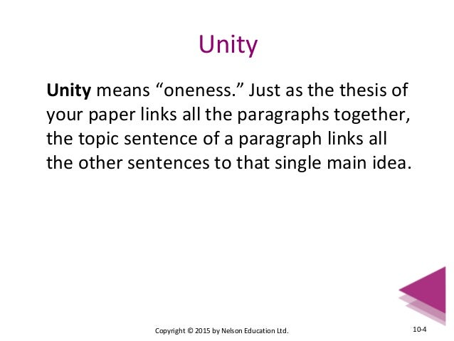 What strategies can I use to improve the unity and coherence of my essays?