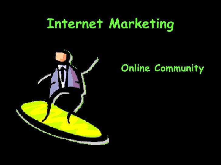 Ch10 Online Community