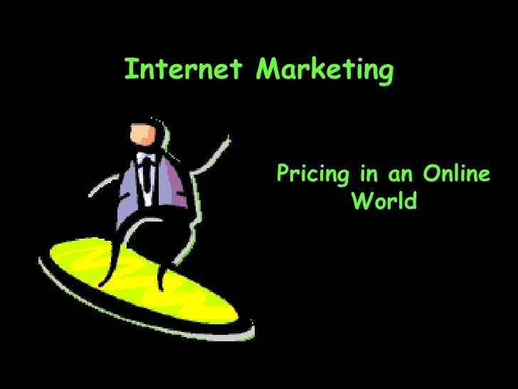 Ch11 Pricing In Online World