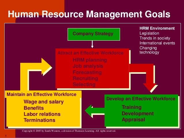 a overview of integrating strategy and human resource management